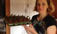 Monika upekla výborné cupcakes