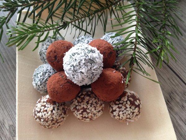 Vánoční kuličky bez cukru 3x jinak
