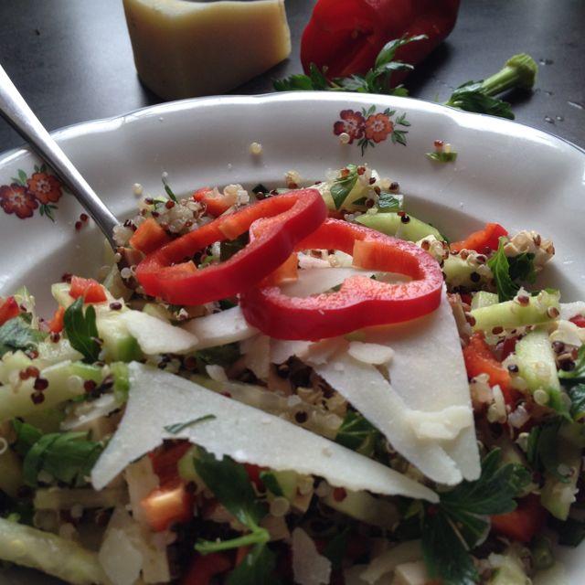 Rychlý salát z quinoy