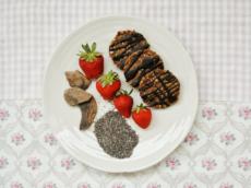 Rychlé ovesné sušenky s chia semínky