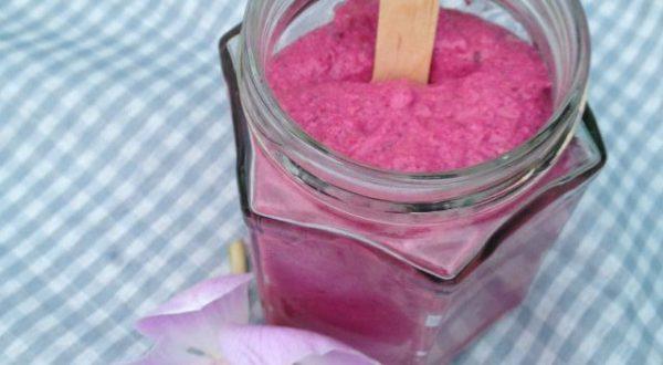 Růžové vločky k snídani