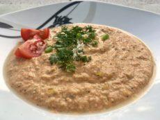 Veganská polévka gazpacho
