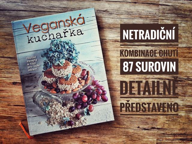 Veganská kuchařka od Cinzia Trenchi