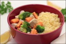 Krůtí stir-fry se zeleninou