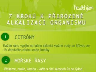 7 kroků k alkalizaci organismu
