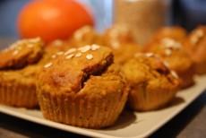 Posthalloweenské dýňové muffiny