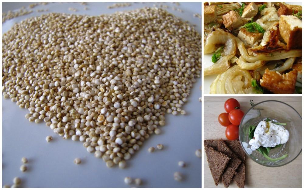 Jak nakombinovat vegetariánské zdroje bílkovin